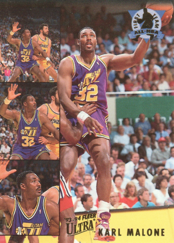 1993-94 Ultra All-NBA #3 Karl Malone