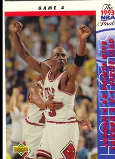 1993-94 Upper Deck #201 Michael Jordan FIN