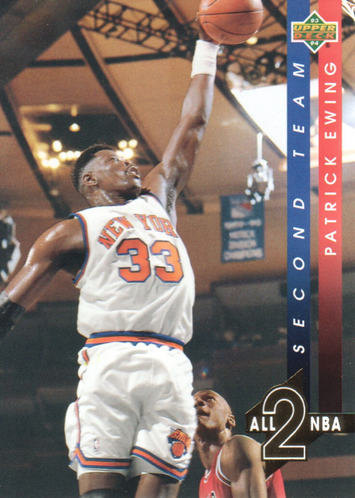 1993-94 Upper Deck All-NBA #AN8 Patrick Ewing