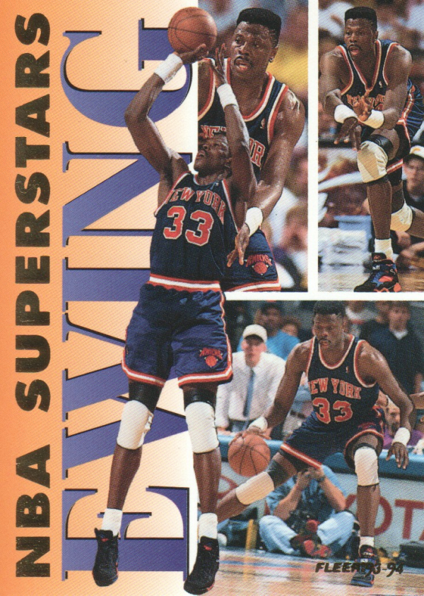 1993-94 Fleer NBA Superstars #6 Patrick Ewing