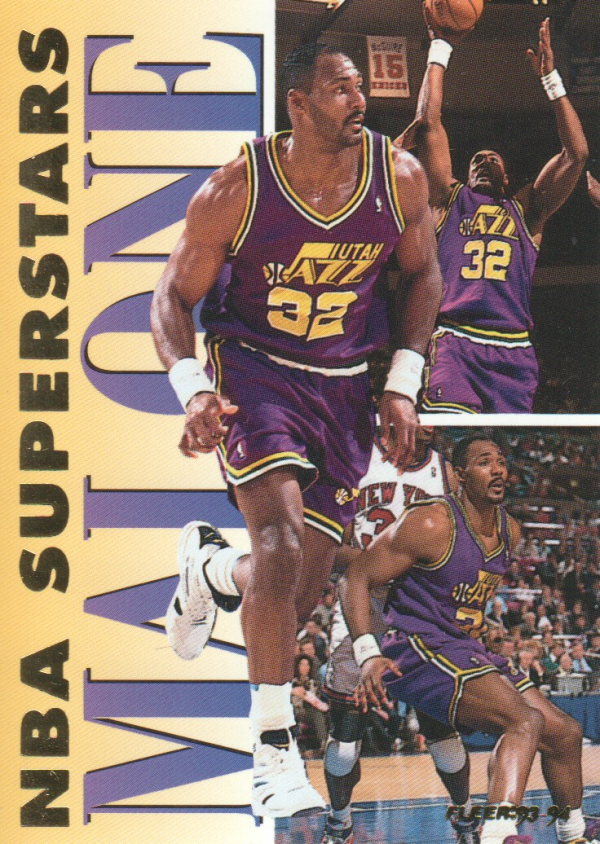 1993-94 Fleer NBA Superstars #10 Karl Malone
