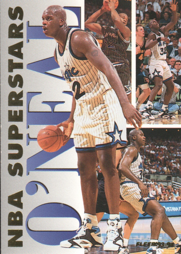 1993-94 Fleer NBA Superstars #16 Shaquille O'Neal