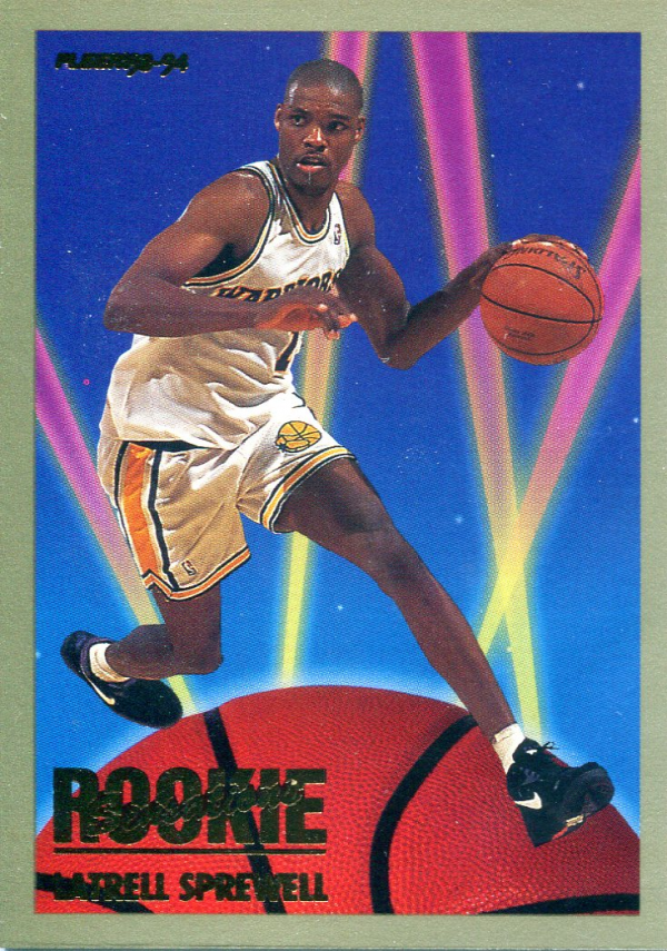 1993-94 Fleer Rookie Sensations #21 Latrell Sprewell