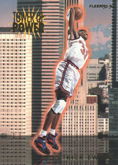 1993-94 Fleer Towers of Power #7 Patrick Ewing