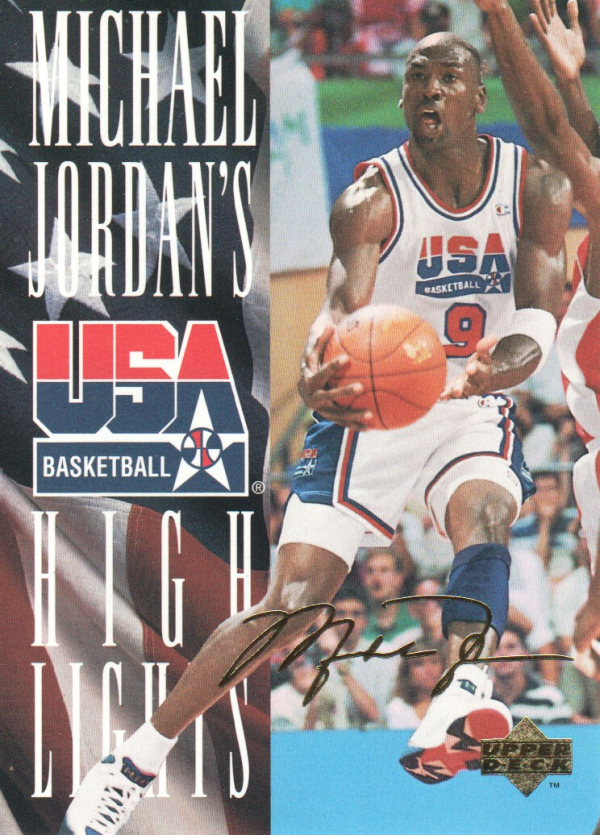 1994 Upper Deck USA Jordan's Highlights #JH1 Michael Jordan
