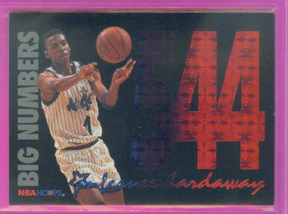 1994-95 Hoops Big Numbers Rainbow #8 Anfernee Hardaway