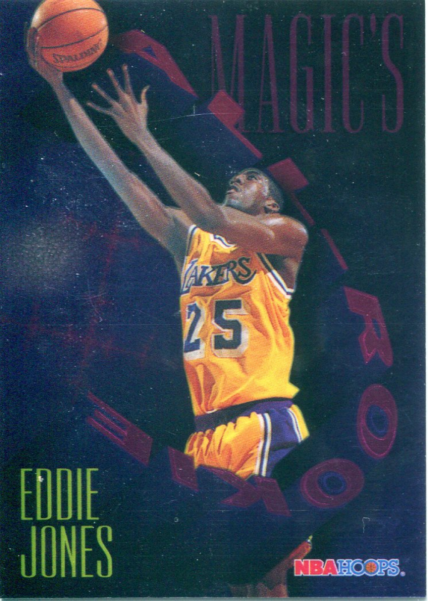 1994-95 Hoops Magic's All-Rookies Foil-Tech #FAR8 Eddie Jones
