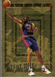 1994-95 Embossed Golden Idols #103 Grant Hill