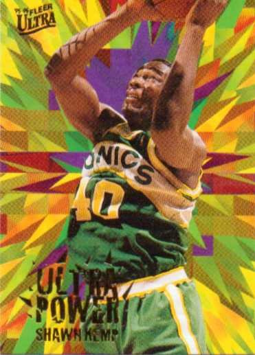 1995-96 Ultra Power #4 Shawn Kemp