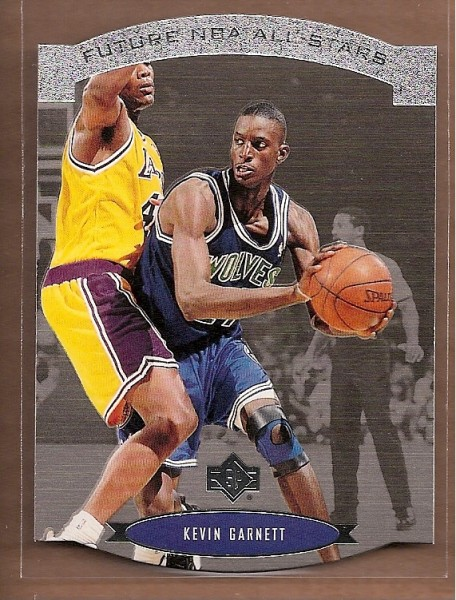 1995-96 SP All-Stars #AS28 Kevin Garnett