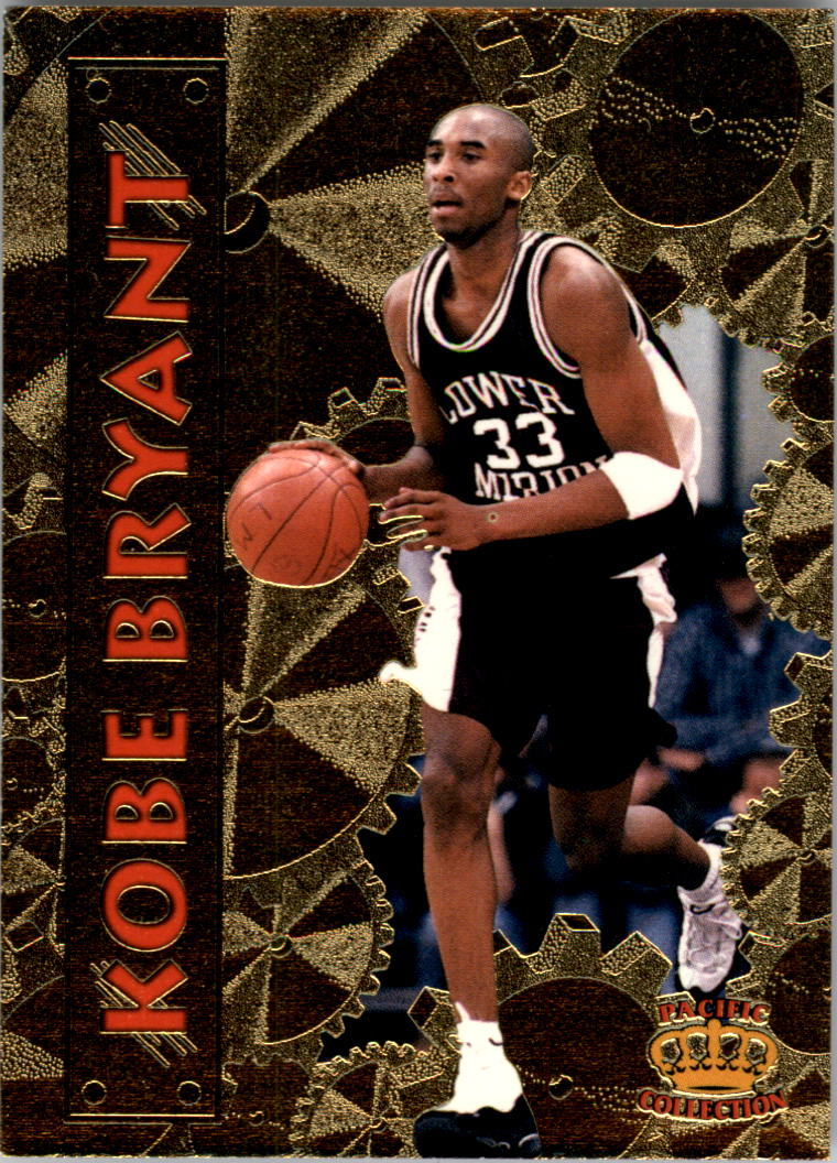 1996 Pacific Power #6 Kobe Bryant