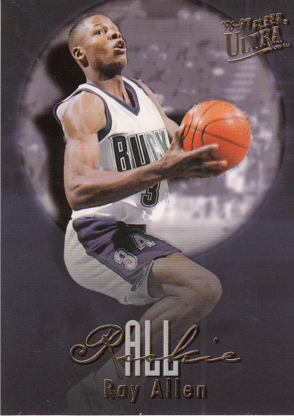 1996-97 Ultra All-Rookies #2 Ray Allen