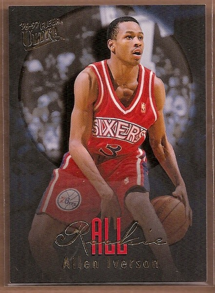 1996-97 Ultra All-Rookies #7 Allen Iverson