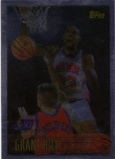 1996-97 Topps NBA at 50 #100 Grant Hill