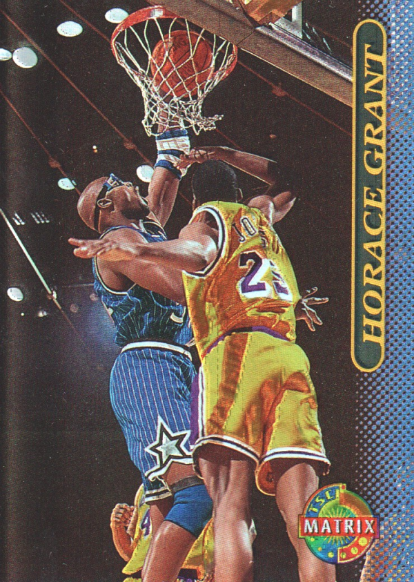 1996-97 Stadium Club Matrix #3 Horace Grant