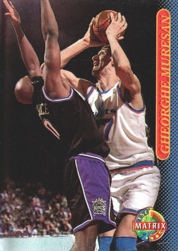 1996-97 Stadium Club Matrix #4 Gheorghe Muresan