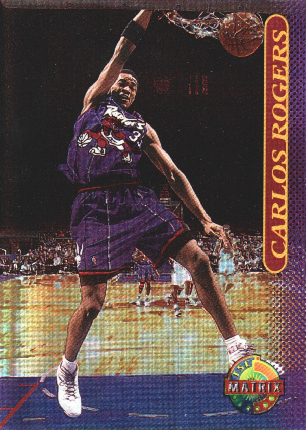 1996-97 Stadium Club Matrix #6 Carlos Rogers