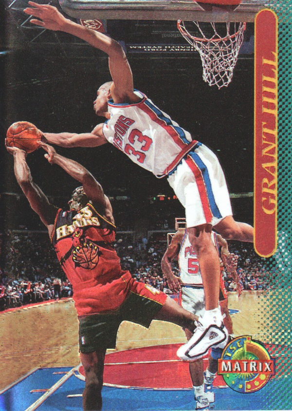1996-97 Stadium Club Matrix #10 Grant Hill