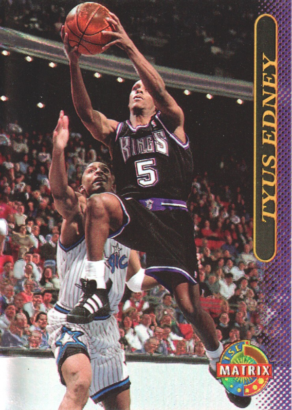 1996-97 Stadium Club Matrix #11 Tyus Edney