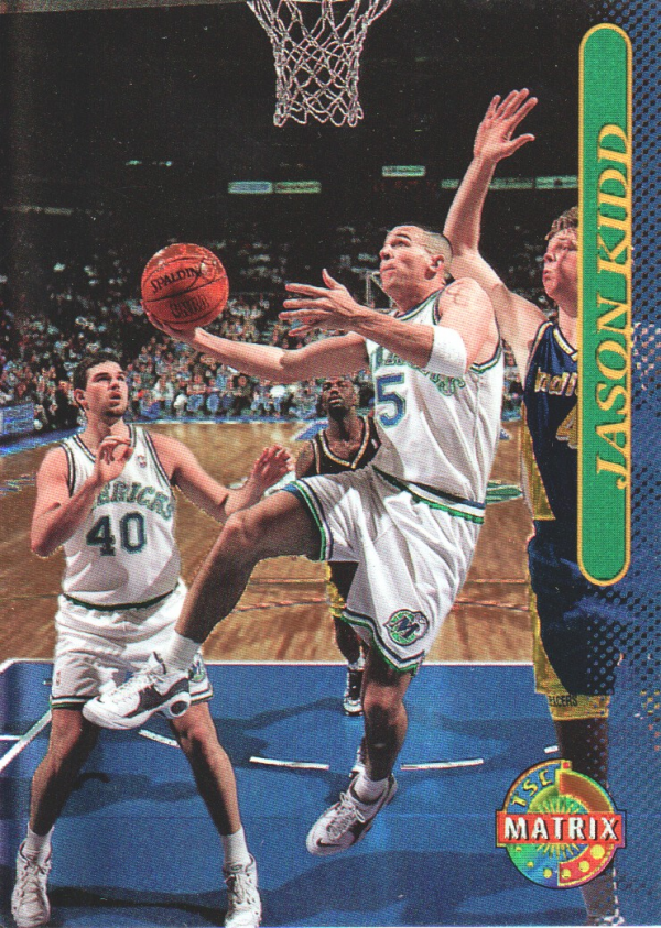 1996-97 Stadium Club Matrix #13 Jason Kidd