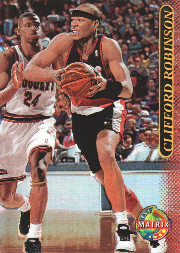 1996-97 Stadium Club Matrix #14 Clifford Robinson