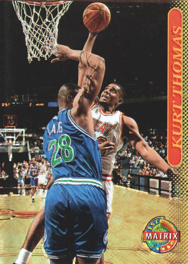 1996-97 Stadium Club Matrix #21 Kurt Thomas