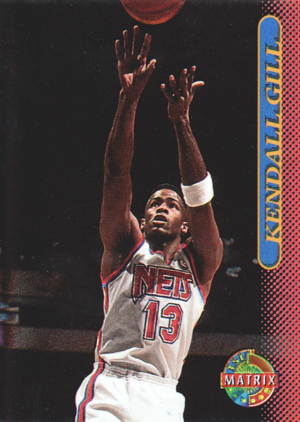 1996-97 Stadium Club Matrix #26 Kendall Gill