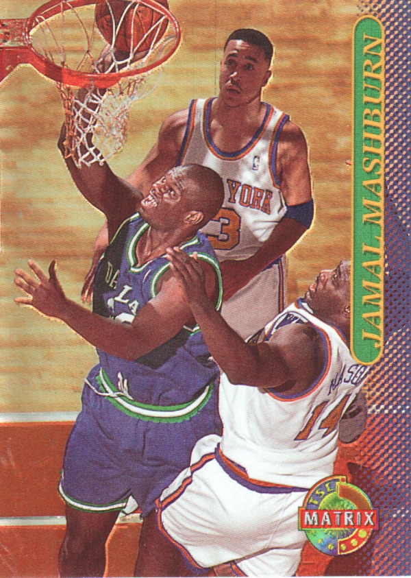 1996-97 Stadium Club Matrix #30 Jamal Mashburn