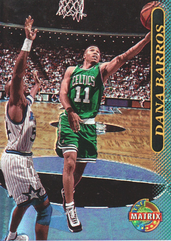 1996-97 Stadium Club Matrix #37 Dana Barros