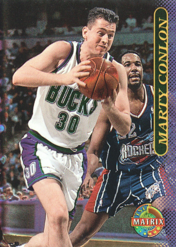 1996-97 Stadium Club Matrix #40 Marty Conlon