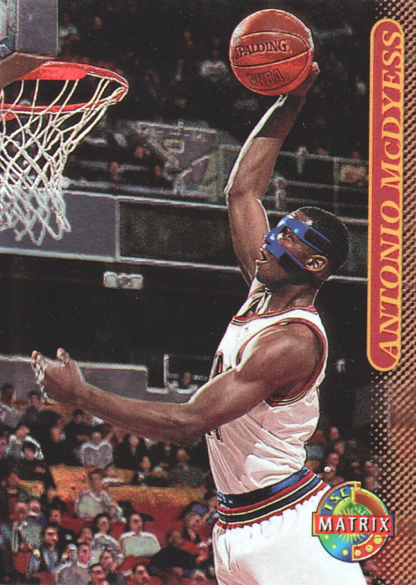1996-97 Stadium Club Matrix #41 Antonio McDyess