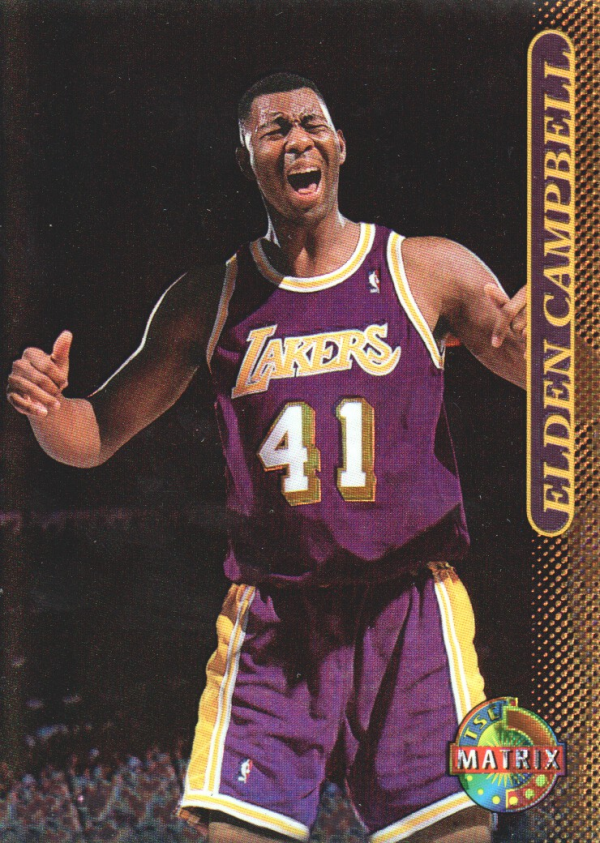 1996-97 Stadium Club Matrix #47 Elden Campbell