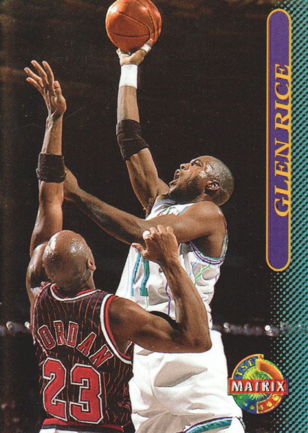 1996-97 Stadium Club Matrix #51 Glen Rice