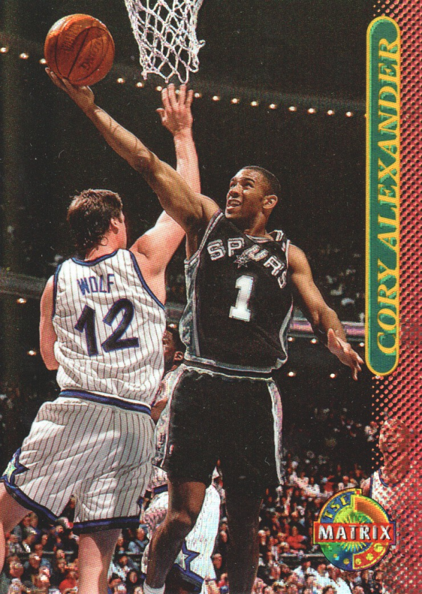 1996-97 Stadium Club Matrix #53 Cory Alexander