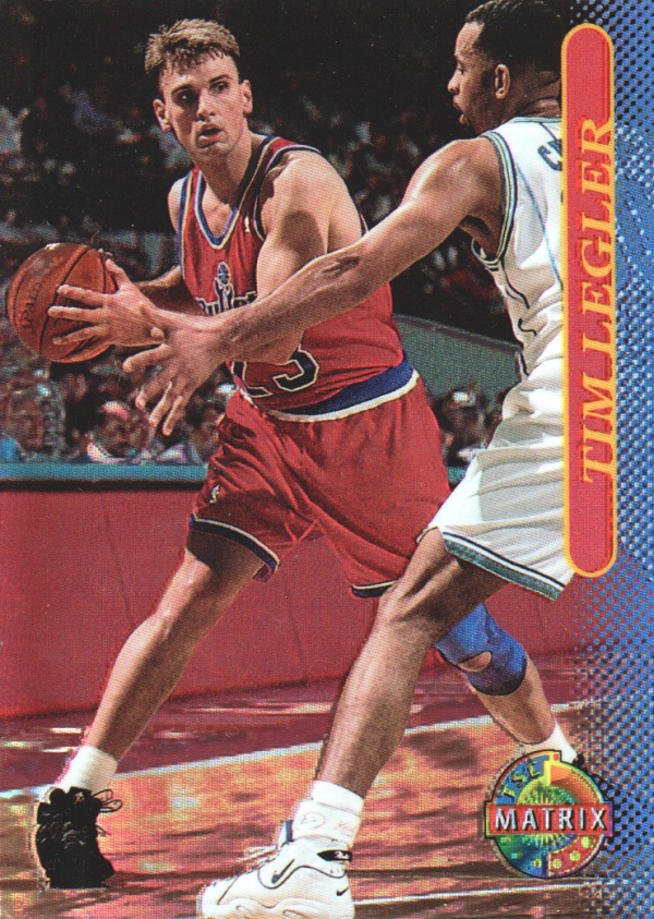 1996-97 Stadium Club Matrix #54 Tim Legler
