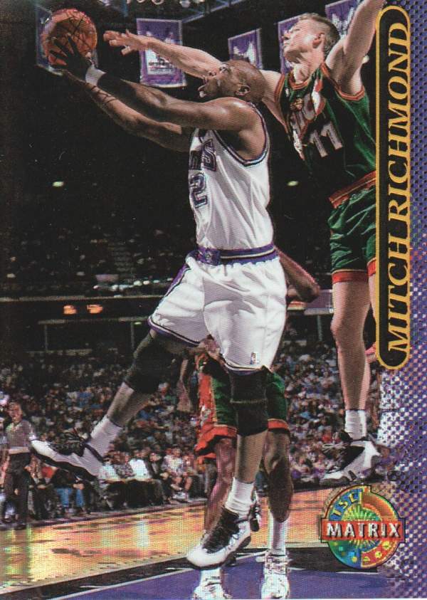 1996-97 Stadium Club Matrix #63 Mitch Richmond