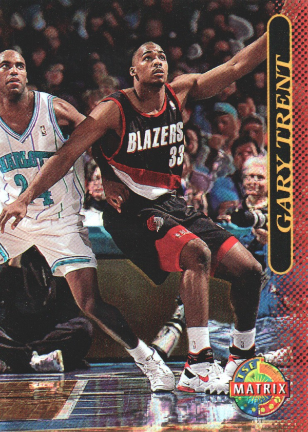 1996-97 Stadium Club Matrix #70 Gary Trent