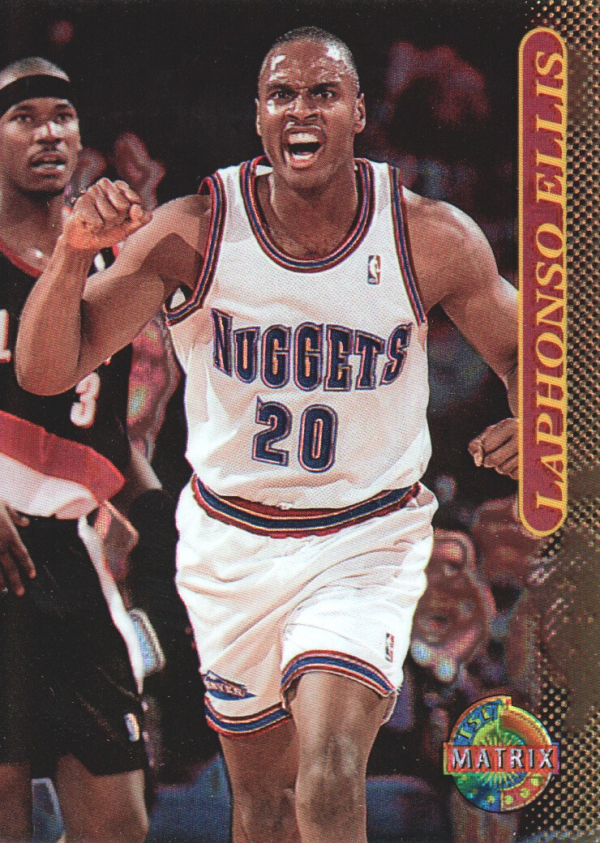 1996-97 Stadium Club Matrix #71 Laphonso Ellis