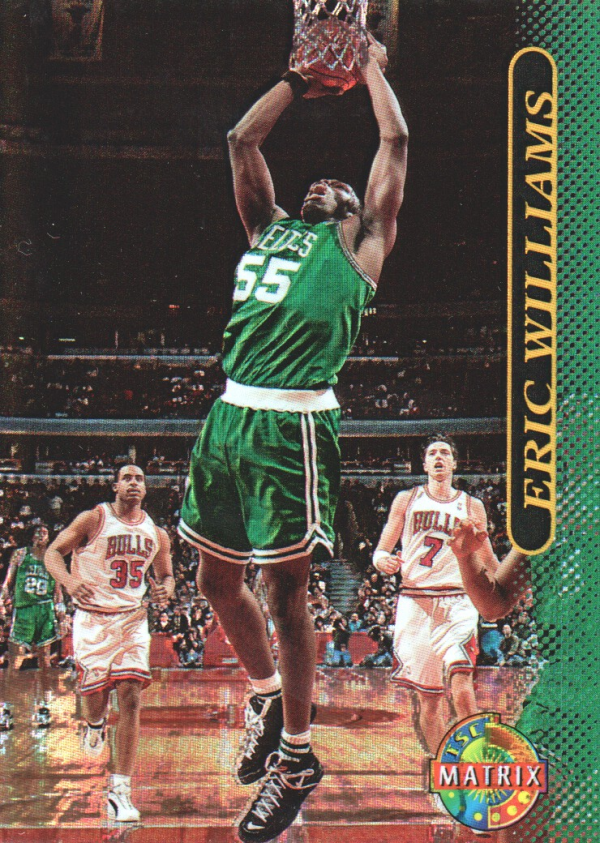 1996-97 Stadium Club Matrix #75 Eric Williams