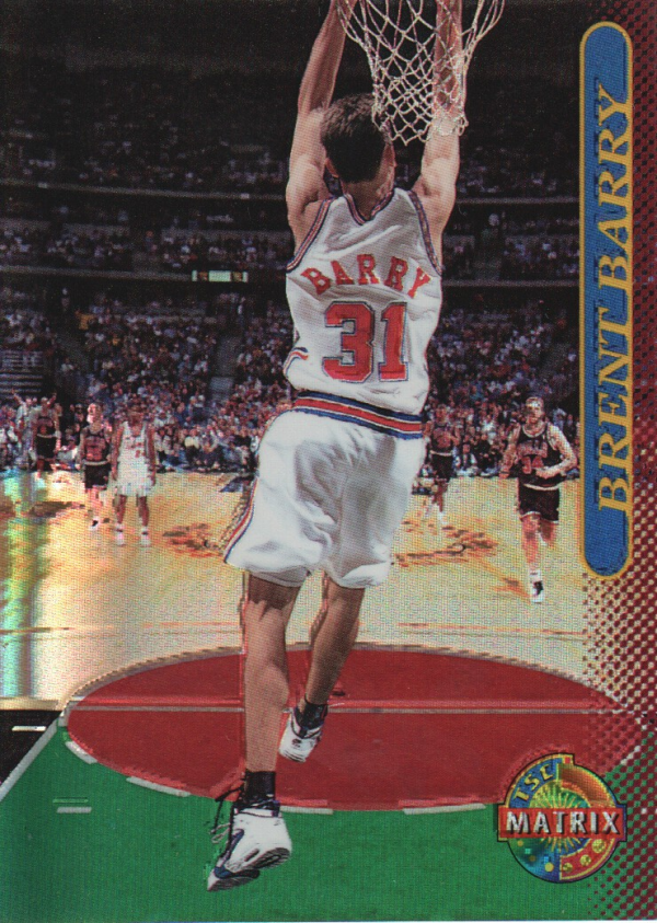 1996-97 Stadium Club Matrix #76 Brent Barry