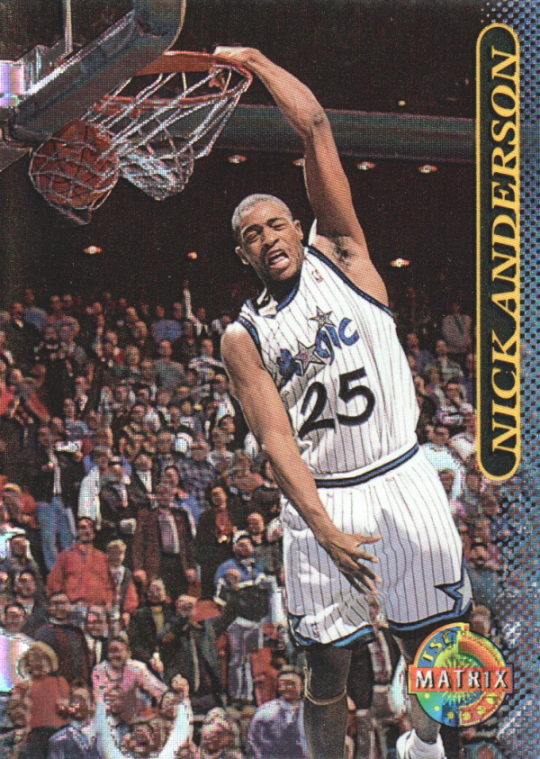 1996-97 Stadium Club Matrix #77 Nick Anderson