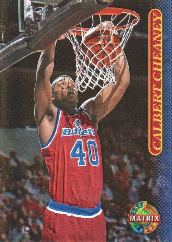 1996-97 Stadium Club Matrix #79 Calbert Cheaney