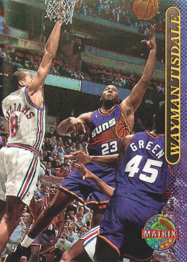 1996-97 Stadium Club Matrix #82 Wayman Tisdale