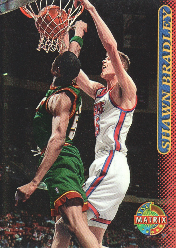 1996-97 Stadium Club Matrix #90 Shawn Bradley