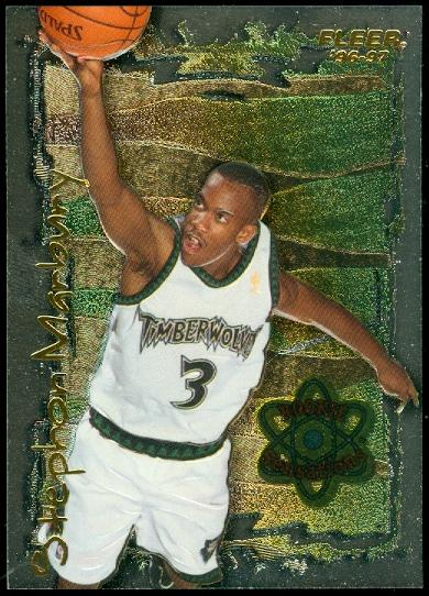 1996-97 Fleer Rookie Sensations #9 Stephon Marbury
