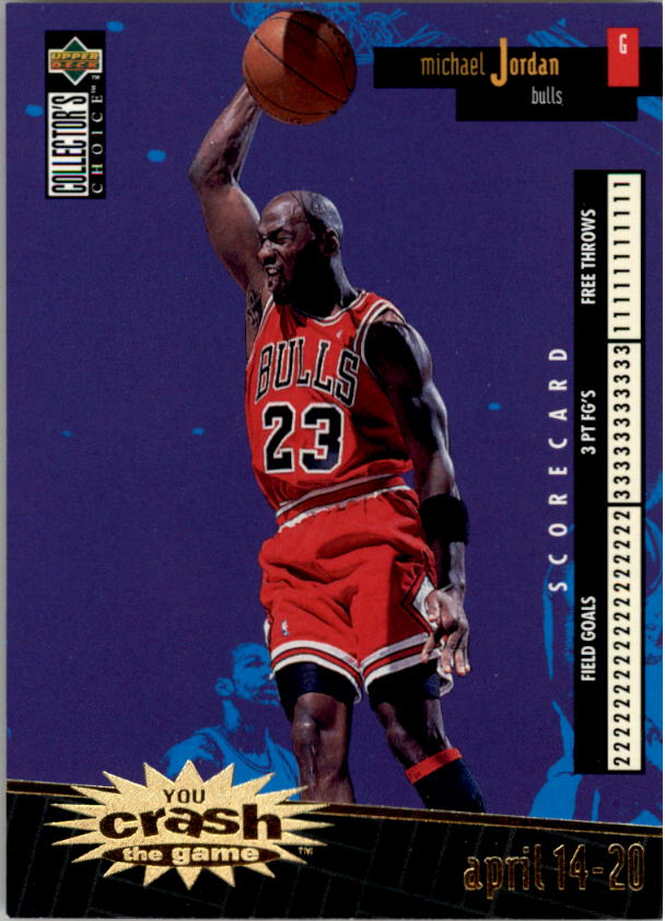 choice crash the game scoring gold 2 #c30b michael jordan front