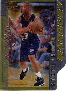 1996-97 Bowman's Best Picks #BP1 Stephon Marbury