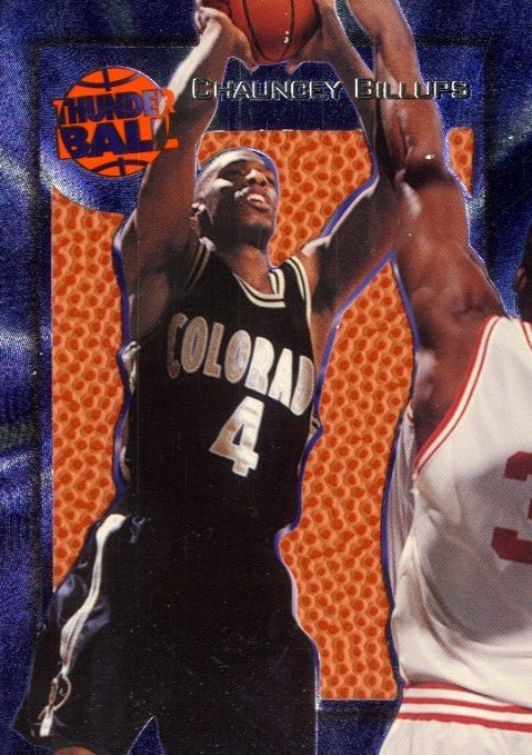 1997 Wheels Rookie Thunder Ball #T3 Chauncey Billups