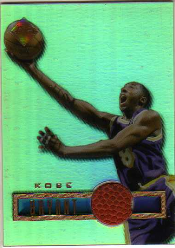 1997 Collector's Edge Game Ball #2 Kobe Bryant