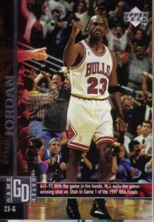1997-98 Upper Deck #18 Michael Jordan